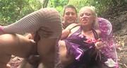 Publiczny seks z boską blond laseczką
