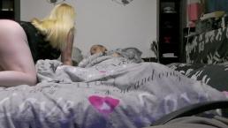 Seks z ciężarną blondyną