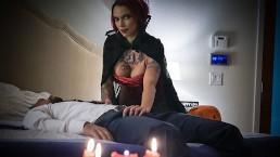 Seks z rudą wampirzycą