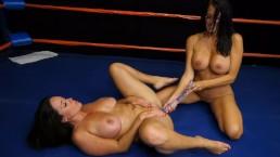 Cycate lesbijki na ringu