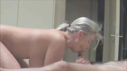 Zajebiste cyce blond amatorki