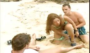Ostre porno na plaży
