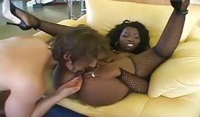 Szalone murzynki porno
