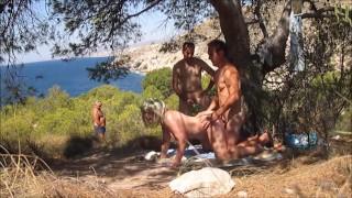Publiczny seks z dojrzałą babeczką