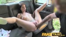 Hiszpanka w seks taksówce