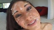 Kompilacje wytrysków na twarz Isabelle Pacino