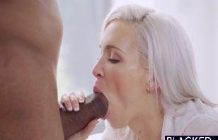 Kacey Jordan podejmuje czarną pałę