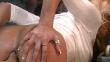 Briana Banks z palcami w dupie